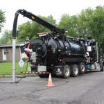 Jet Vacuum Sewer Line Cleaning Machines